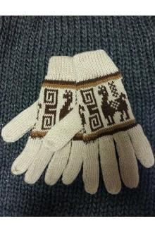 Перчатки светло-коричневые