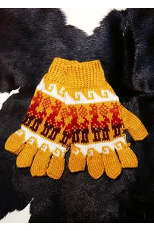 """Перчатки без пальчиков """"Yellow"""""""