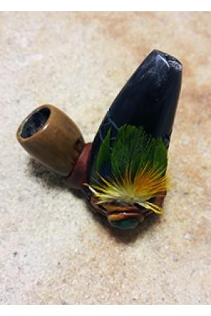 Трубка Cacho con pluma
