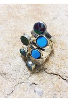 """Кольцо """"5 stones"""""""