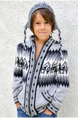 Детский свитер из ламы