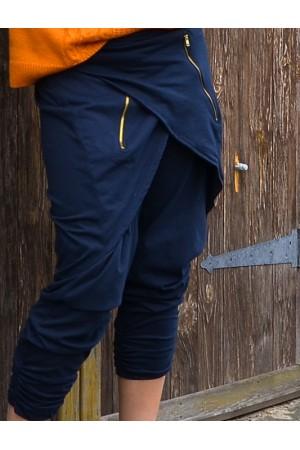 Трикотажные штаны Бохо