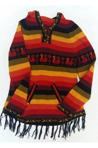 Женский свитер из шерсти ламы Шакира Rasta